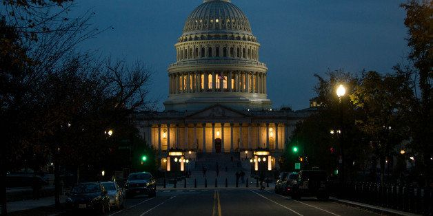 WASHINGTON, DC - NOVEMBER 08: The Capitol Building is pictured on November 8, 2016 in Washington, DC. Americans today will ch
