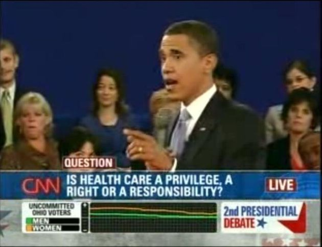 Obama: Health Care Should Be A Right