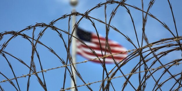 GUANTANAMO BAY, CUBA - OCTOBER 23:  (EDITORS NOTE: Image has been reviewed by the U.S. Military prior to transmission.) Razor
