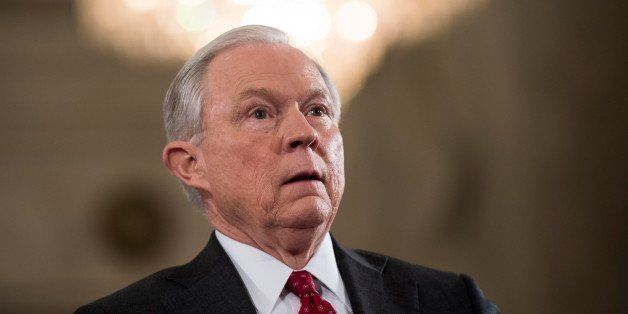 WASHINGTON, DC -  President Elect Donald Trump's pick for Attorney General Senator Jeff Sessions (R-AL) at his confirmation h