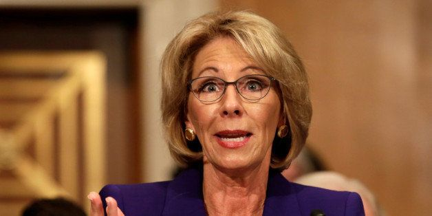 Betsy Devos Nomination Chilling >> Betsy Devos Nomination A Chilling American Civics Lesson Huffpost