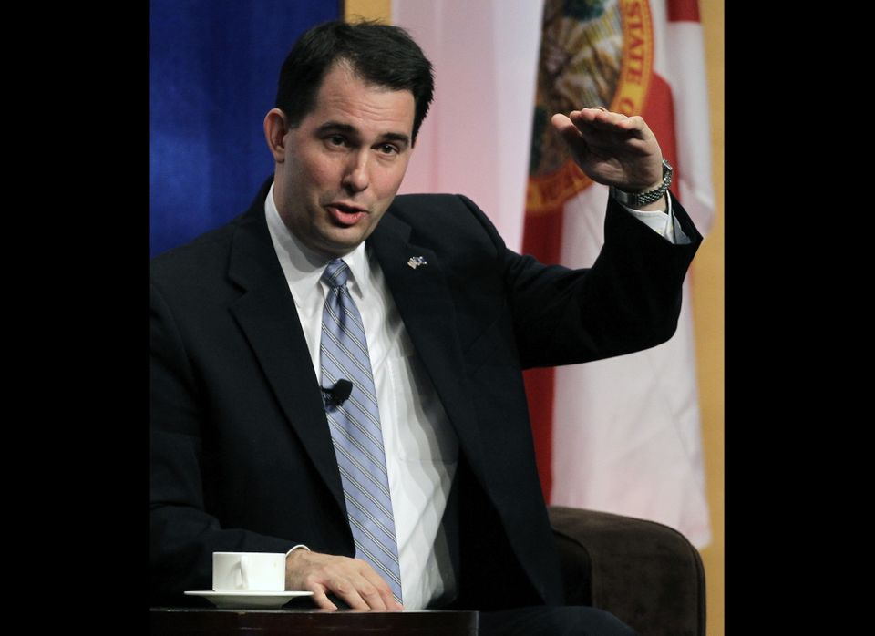 In 2010, a surge of Tea Party momentum and backlash against Democrats helped elect conservatives including Wisconsin Gov. Sco