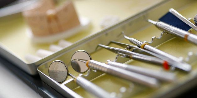 Dentist tools are photographed in the surgery room of dentist Sevan Arzuyan in Hanau near Frankfurt, Germany, March 7, 2016.