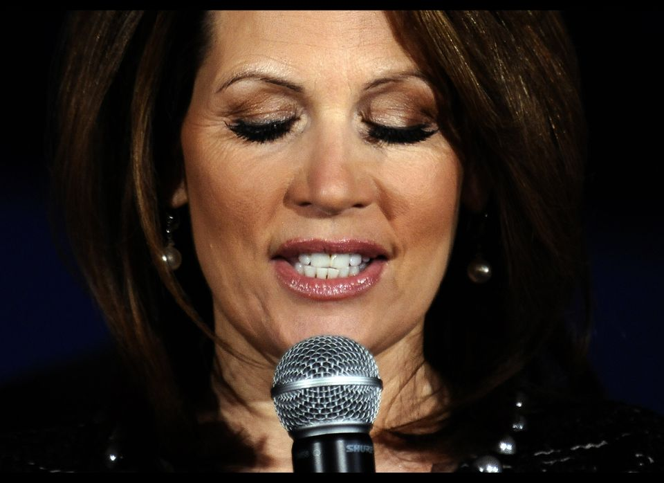 """Bachmann raised some eyebrows in November 2011 when she claimed she'd never """"had a gaffe.""""  """"As people are looking at the c"""