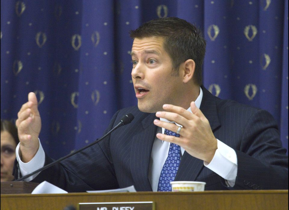 "Duffy, a former contestant on MTV's ""Real World"" who entered Congress last year, drew criticism when he told constituents tha"