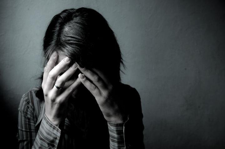 Woman Depressed. Series