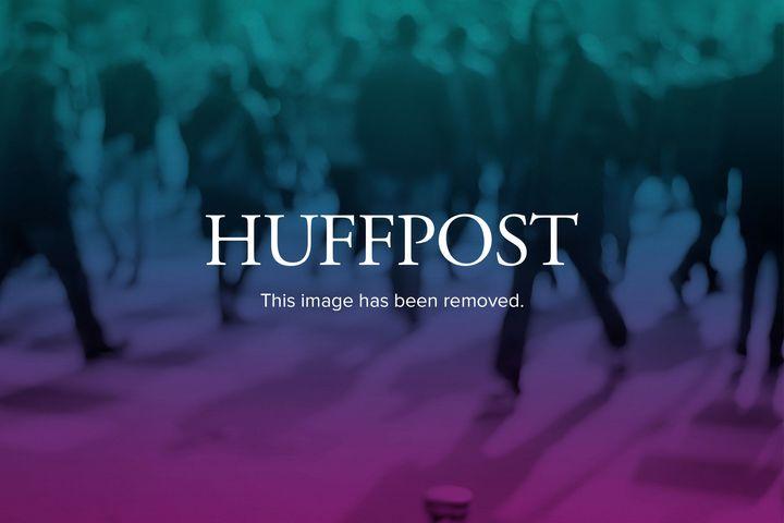 FILE - In this Oct. 11, 2012, file photo, Democratic Senate candidate Heidi Heitkamp, left, listens to Republican opponent Ri