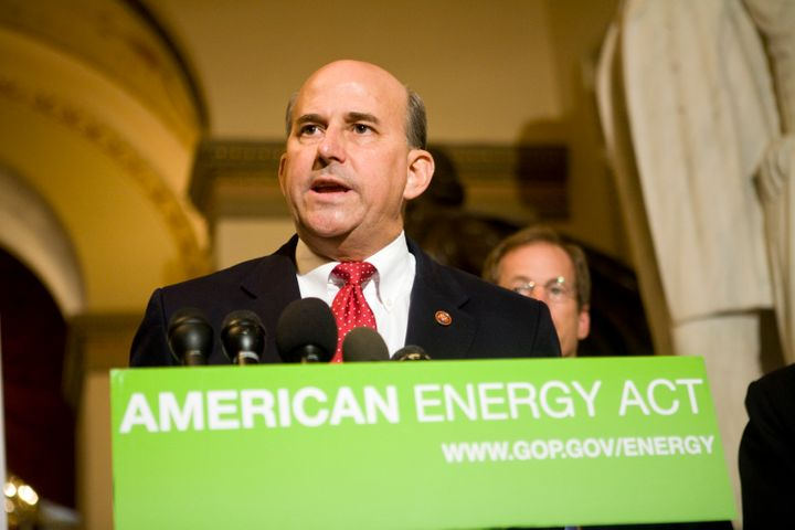 WASHINGTON - AUGUST 25:  U.S. Rep. Louie Gohmert (R-TX) speaks at a news conference in the Capitol on August  25, 2008 in Was