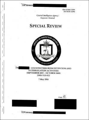 extended interrogation techniques was classified until August 2009,  ... Category:Central Intelligence Agency Category:Docume