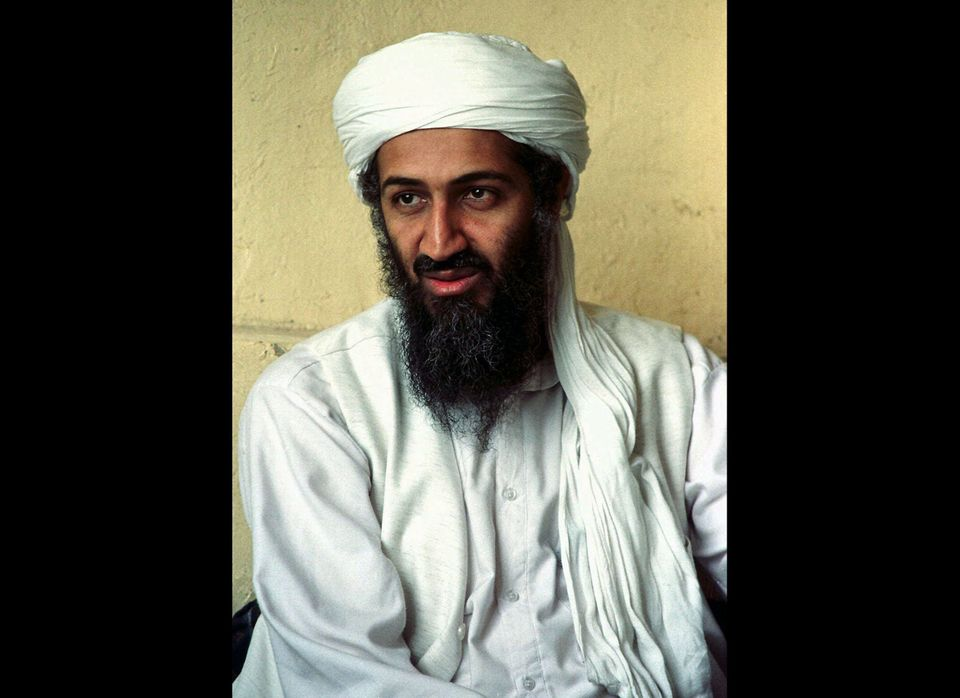 This April 1998 file photo shows exiled Saudi dissident Osama bin Laden in Afghanistan. He was killed during a raid of his co