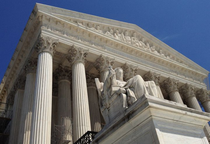 WASHINGTON, DC - JUNE 27:  The U.S. Supreme Court building June 27, 2012 in Washington, DC. The high court could hand down a