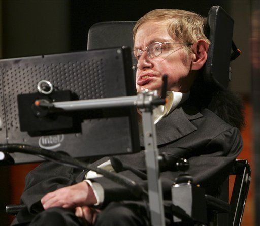 Stephen Hawking Enters U.S. Health Care