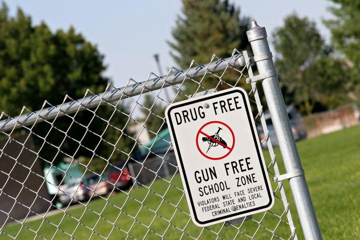 drug and gun free school zone...