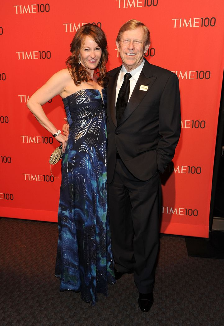 NEW YORK, NY - APRIL 26:  Lady Olsen and Ted Olsen attend the TIME 100 Gala, TIME'S 100 Most Influential People In The World