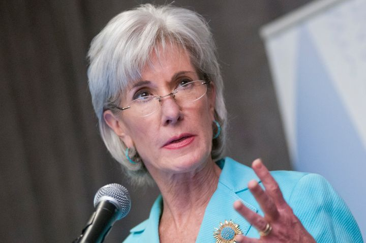 WASHINGTON, DC - JUNE 22: Health and Human Services Sec. Kathleen Sebelius speaks during the Young Elected Officials Network
