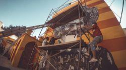 L'ancienne médina d'Oujda s'orne de fresques murales