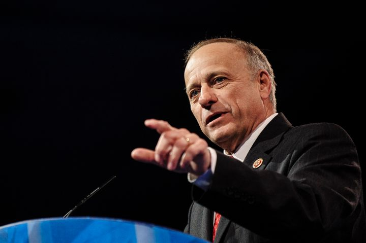 NATIONAL HARBOR, MD - MARCH 16: Rep. Steve King (R-IA) speaks at the 2013 Conservative Political Action Conference (CPAC) Mar