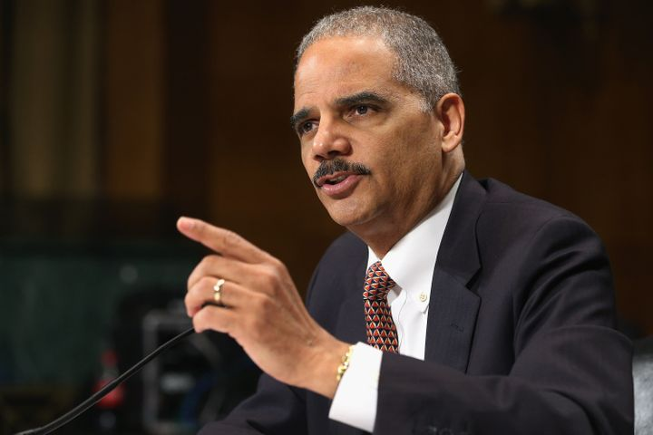 WASHINGTON, DC - MARCH 06:  U.S. Attorney General Eric Holder testifies before the Senate Judiciary Committee on Capitol Hill