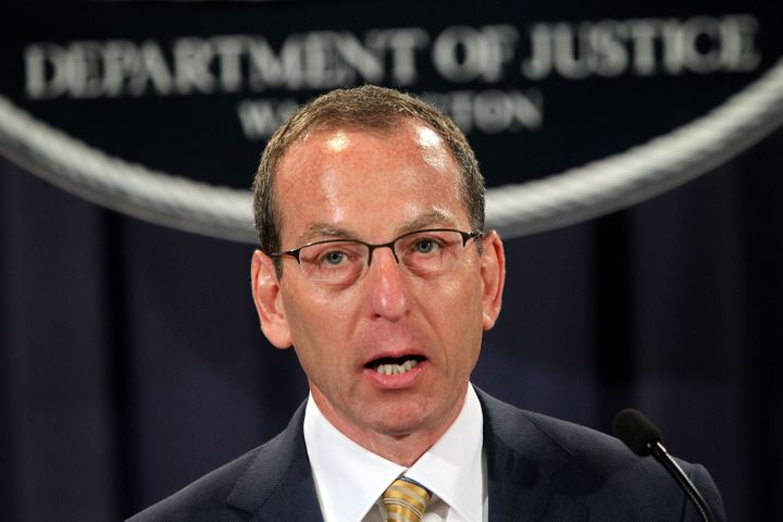 WASHINGTON, DC - MAY 02:  Assistant U.S. Attorney General Lanny Breuer of the Criminal Division speaks during a news conferen