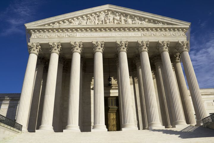 supreme court building in...