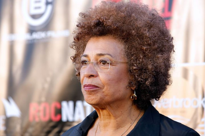 NEW YORK, NY - APRIL 03:  Activist Angela Davis attends the 'Free Angela and All Political Prisoners' New York Premiere at Th