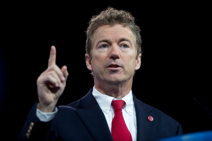 UNITED STATES - MARCH 13: Sen. Rand Paul, R-Ky., speaks at the 2013 Conservative Political Action Conference at the National