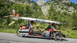 Deux Marocains parviennent à relier la Chine avec un tricycle solaire