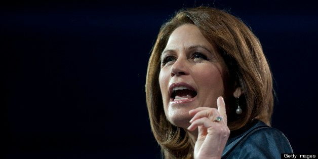 UNITED STATES - MARCH 16:  Rep. Michele Bachmann, R-MI., during the 2013 Conservative Political Action Conference at the Gayl