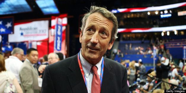 TAMPA, FL - AUGUST 28:  South Carolina Gov. Mark Sanford attends the Republican National Convention at the Tampa Bay Times Fo
