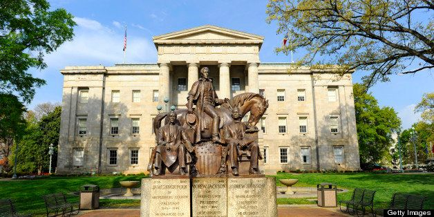 State Capitol Building complex at Raleigh North Carolina