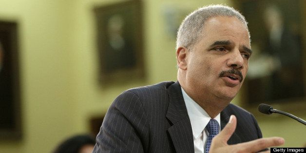 WASHINGTON, DC - APRIL 18:  U.S. Attorney General Eric Holder testifies before the House Appropriations Committee on Capitol