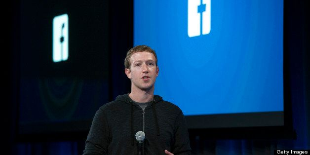 Mark Zuckerberg, chief executive officer of Facebook Inc., speaks during an event in Menlo Park, California, U.S., on Thursda