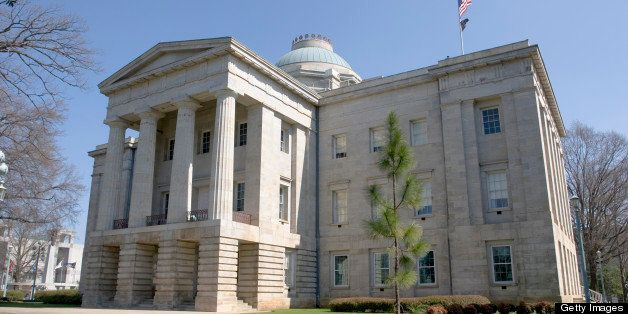 North Carolina State Capitol in Raleigh at daytime