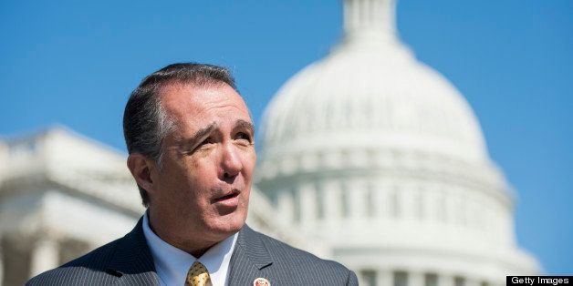 UNITED STATES - APRIL 25: Rep. Trent Franks, R-Ariz., speaks during a news conference outside of the Capitol on Thursday, Apr