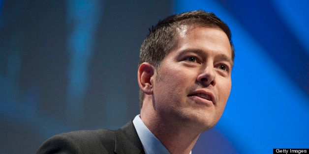 UNITED STATES Ð FEBRUARY 10: Rep. Sean Duffy, R-Wisc., introduces former Gov. Tim Pawlenty, R-Minn., to the CPAC Conference h