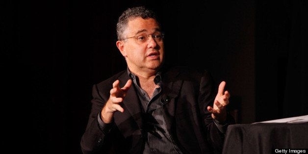 NEW YORK - OCTOBER 01: Moderator Jeffrey Toobin speaks at The New Yorker Festival panel discussion 'Capital Punishment: Is th