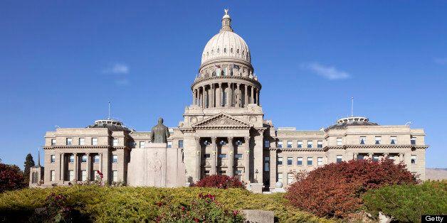 Idaho capitol statehouse in Boise, Idaho, USA