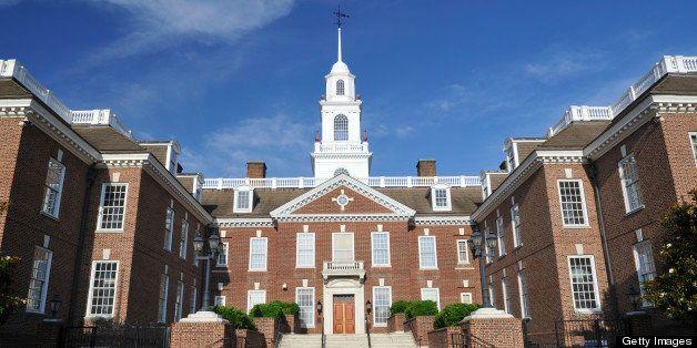 Delaware Legislative Hall, Dover, Delaware, USA