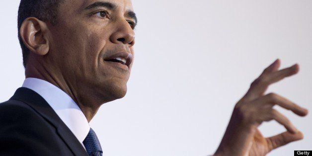 US President Barack Obama speaks about his administration's drone and counterterrorism policies, as well as the military pris