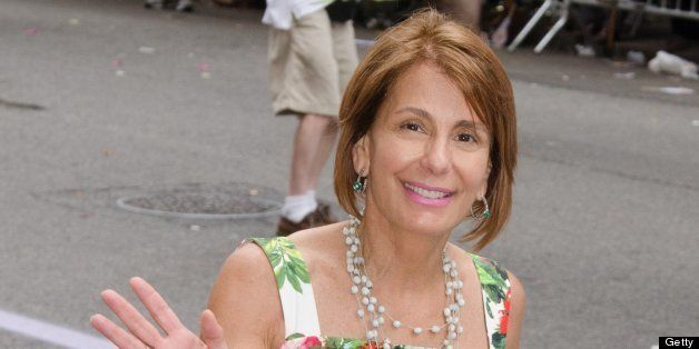 NEW YORK, NY - JUNE 30:  Democratic Gubernatorial Candidate Barbara Buono attends The March during NYC Pride 2013 on June 30,