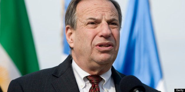 UNITED STATES - DECEMBER 15:  Rep. Bob Filner, D-Calif., participates in a news conference on the plight of the residents at