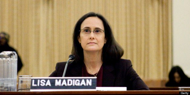 Lisa Madigan, attorney general of Illinois, testifies before the Financial Crisis Inquiry Commission (FCIC) in Washington, D.