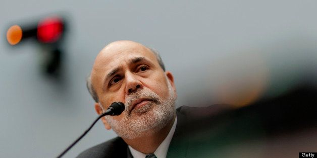 Ben S. Bernanke, chairman of the U.S. Federal Reserve, listens during his semi-annual monetary policy report to the House Fin