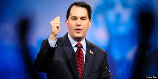 NATIONAL HARBOR, MD - MARCH 16: Wisconsin Gov. Scott Walker speaks at the 2013 Conservative Political Action Conference (CPAC