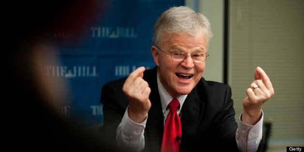 WASHINGTON, DC - DECEMBER 7:  Buddy Roemer is a former governor, a former congressman and a major businessman, but, like many