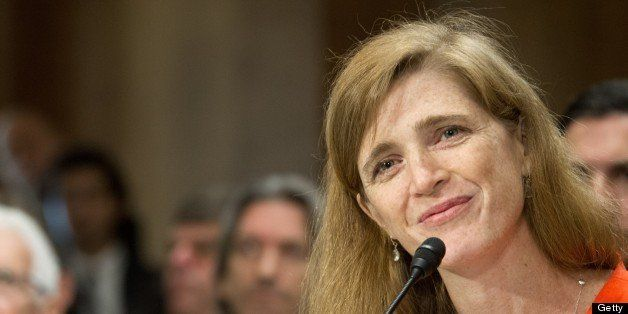 Samantha Power, US President Barack Obama's nominee to be the representative to the United Nations, testifies before the Sena