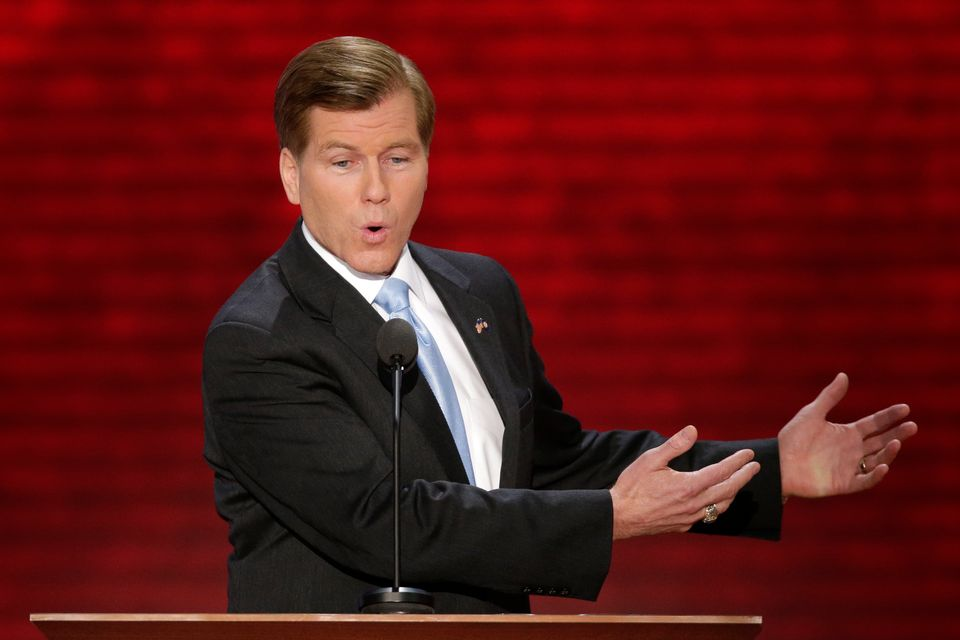 Virginia Governor Bob McDonnell addresses the Republican National Convention in Tampa, Fla., on Tuesday, Aug. 28, 2012. (AP P