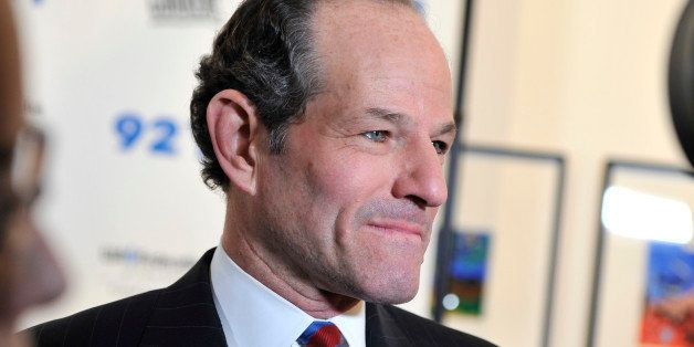 NEW YORK, NY - DECEMBER 10: Eliot Spitzer attends A Special Night Of Comedy Benefiting Victims Of Hurricane Sandy at 92nd Str