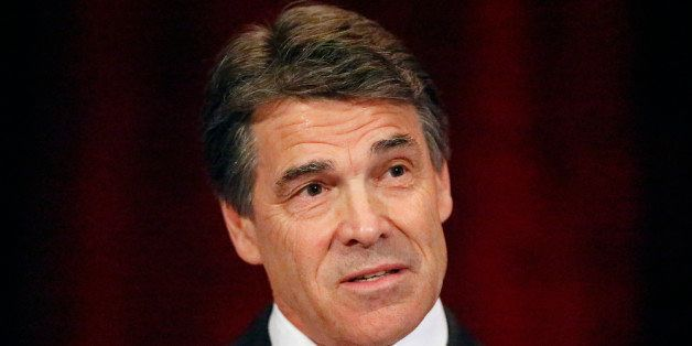 GRAPEVINE, TX - JUNE 27:  Texas Gov. Rick Perry speaks to the National Right to Life convention at the Hyatt Regency DFW Inte