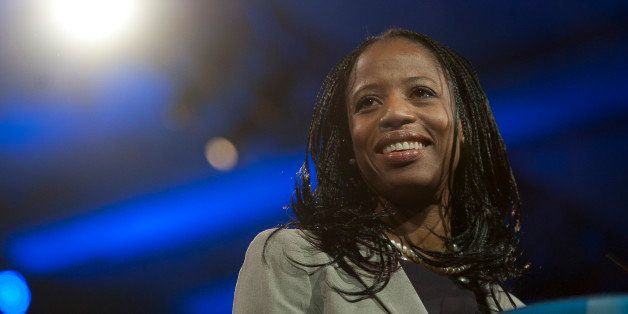 UNITED STATES - MARCH 16:  The Mayor of Saratoga Springs, Utah, Mia Love during the 2013 Conservative Political Action Confer